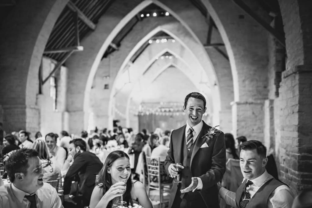 Tithe Barn Wedding Photography